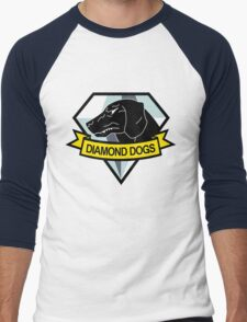 Metal Gear Solid - Diamond Dogs Emblem Men's Baseball ¾ T-Shirt