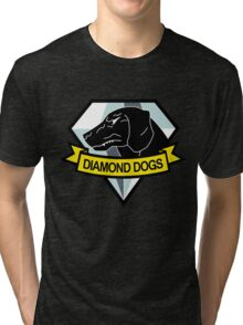 Metal Gear Solid - Diamond Dogs Emblem Tri-blend T-Shirt