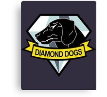 Metal Gear Solid - Diamond Dogs Emblem Canvas Print