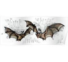 Cave Bats Poster