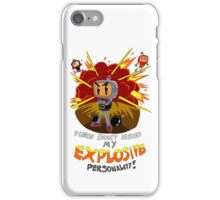 Bomberman's Explosive Personality iPhone Case/Skin