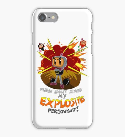 Bomberman's Explosive Personality iPhone Case/Skin