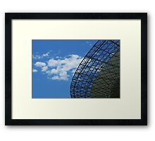 Parkes Dish in January Framed Print