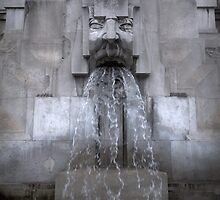 Milan Train Station Fountain by Gregory Dyer