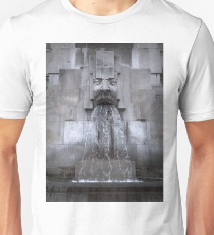 Milan Train Station Fountain Unisex T-Shirt