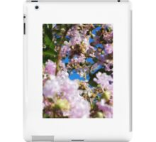 Pink Flower Blossoms iPad Case/Skin