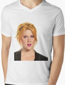 A pop of color Mens V-Neck T-Shirt