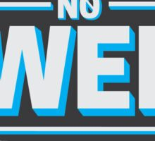 no swell sticker 4 Sticker
