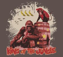 Donkey Kong - King of the Jungle Baby Tee