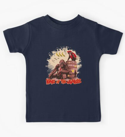 Donkey Kong - King of the Jungle Kids Tee