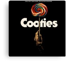 Cooties The Movie Canvas Print