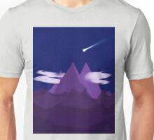 Simple Mountains Unisex T-Shirt