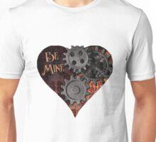 Steampunk Valentine Be Mine Unisex T-Shirt