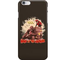 Donkey Kong - King of the Jungle iPhone Case/Skin