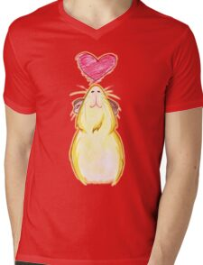 Guinea lovely pig ♥ Mens V-Neck T-Shirt
