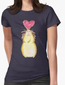 Guinea lovely pig ♥ Womens Fitted T-Shirt