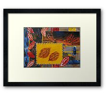 Autumn Patchwork Series Nr 2  Framed Print