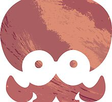 Octarian Logo (Red Sea) by aestheticmemes
