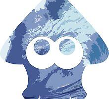 Squid Logo (Blue Sea) by aestheticmemes