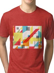 Package Pattern Tri-blend T-Shirt