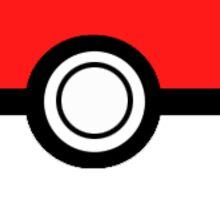 Pokeball Logo Design Sticker