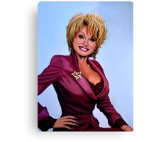 Dolly Parton painting Canvas Print