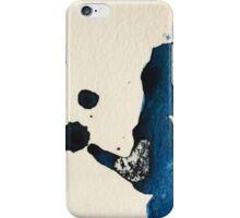 Blue Ink Splat iPhone Case/Skin