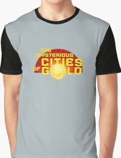The Mysterious Cities Of Gold Logo Graphic T-Shirt