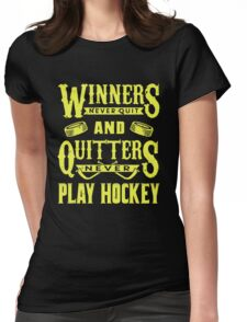 Hockey is for Winners Womens Fitted T-Shirt