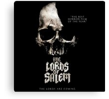 The Lord Of Salem Movie The Lords Are Coming Canvas Print