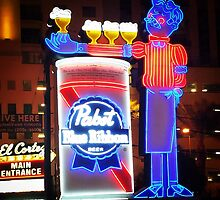 Beer Neon Sign by Gregory Dyer