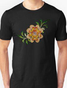 Tonal Flowers Unisex T-Shirt
