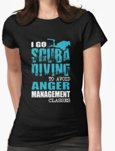 I Go Scuba Diving Womens Fitted T-Shirt