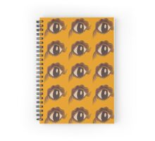 Simple Eye (Mustard) Spiral Notebook
