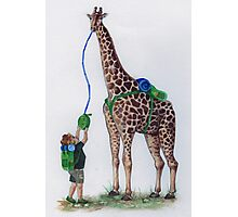 Geoffrey the Giraffe Photographic Print