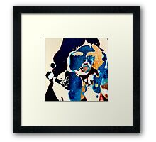 "Yesterday's ""It Girl"" No. 4 Framed Print"