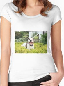 Pit Bull T-Bone Women's Fitted Scoop T-Shirt