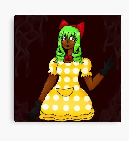 Suprise! It's me, Mimi! Canvas Print