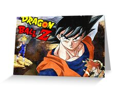 Dragon Ball Z - GOKUS!!!! Greeting Card