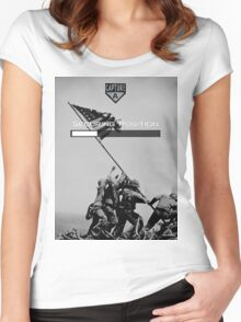 Capturing A Position Women's Fitted Scoop T-Shirt