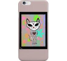 Sugar Skull Kitty iPhone Case/Skin