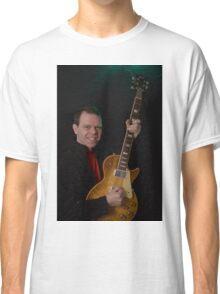 Smiling Bryan and a Gibson  Classic T-Shirt
