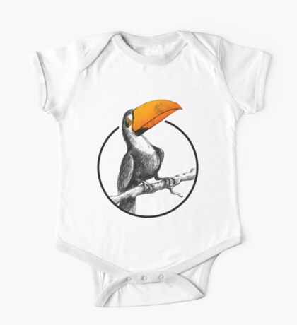 The Brilliant Toucan One Piece - Short Sleeve