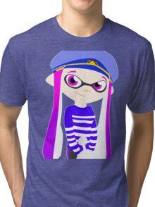 Splatoon - Inkling girl Tri-blend T-Shirt