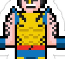8Bit Wolverine Sticker