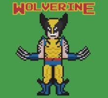 8Bit Wolverine One Piece - Short Sleeve