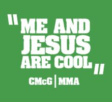 McGregor - Jesus Quote [W] by TypeTees