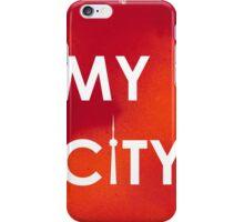 My City - Toronto - RedOrangeA iPhone Case/Skin