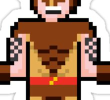 8Bit Wolverine (Brown) Sticker
