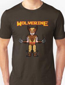 8Bit Wolverine (Brown) T-Shirt